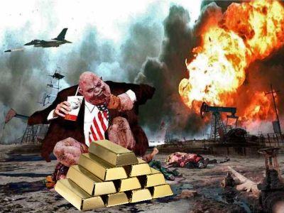 Золото - причина войны