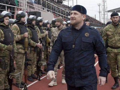 Кадыров и чеченский спецназ