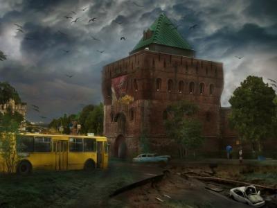 Ядерный удар по Нижнему Новгороду и Сарову