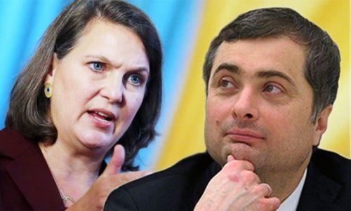 Виктория Нуланд и Владислав Сурков