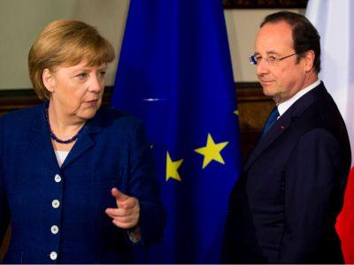 Ангела Меркель и Франсуа Олланд о единой армии ЕС