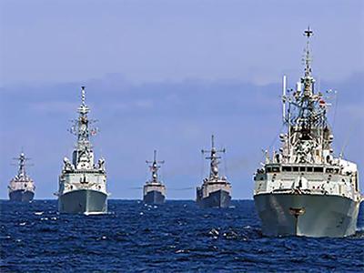 Количество кораблей НАТО в Черном море растет
