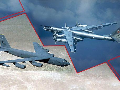 Ту-95 против В-52