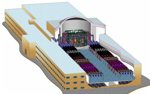 Проект установки лазера в Сарове